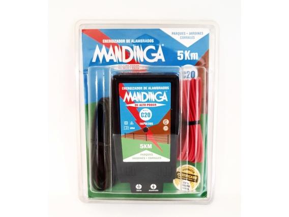 Electrificador-Boyero eléctrico Mandinga® C20 5Km/220v-0,2j