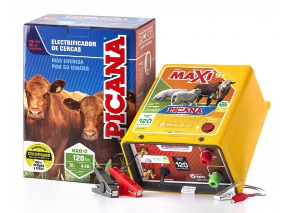Electrificador-boyero Picana® Maxi12 (120km/12v)-4,40j