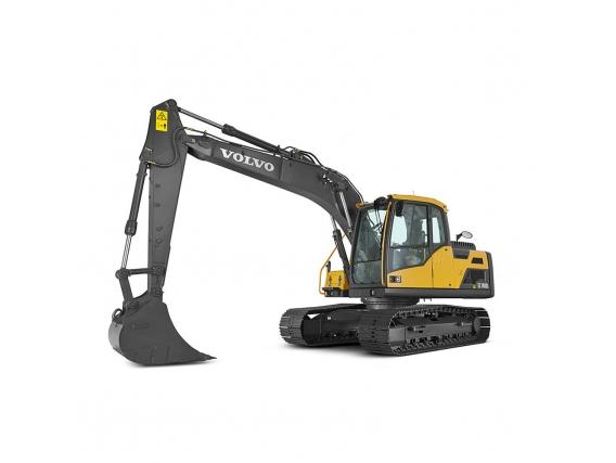 Excavadora De Orugas Medianas Volvo Ec140D