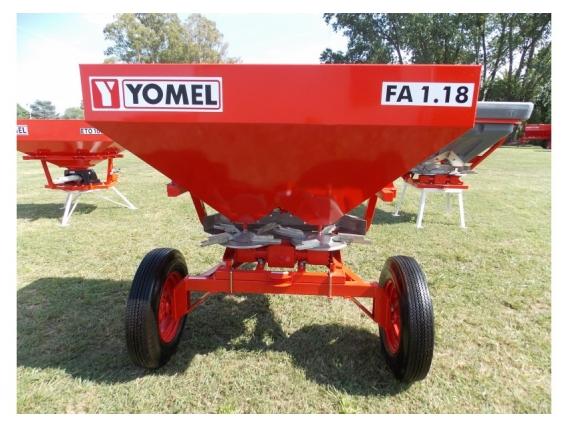 Fertilizadora Yomel Fa 1.18