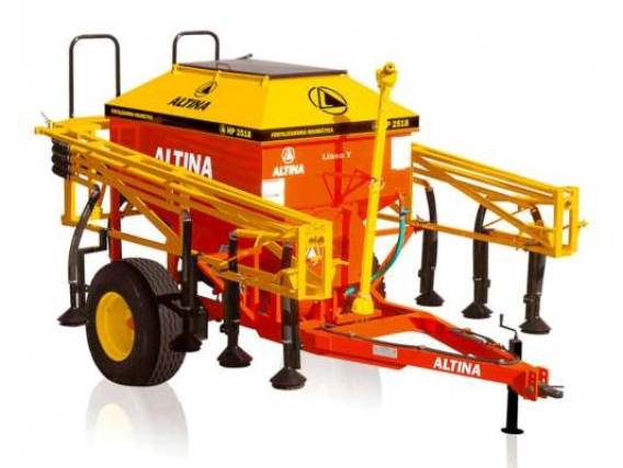 Fertilizadora de Arrastre Neumatica Altina HP 2518