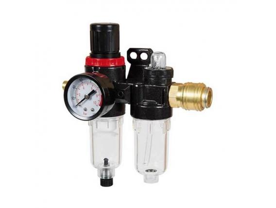 Filtro Reductor de Presion y Lubricador de Linea con Acople Einhell 1/4 COMBI