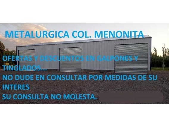 Galpón Metalurgica Colonia Menonita