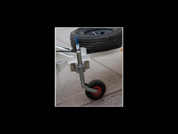 Gato a Rosca con rueda timonera Inflable P/ Trailer, Remolques Y Acoplados
