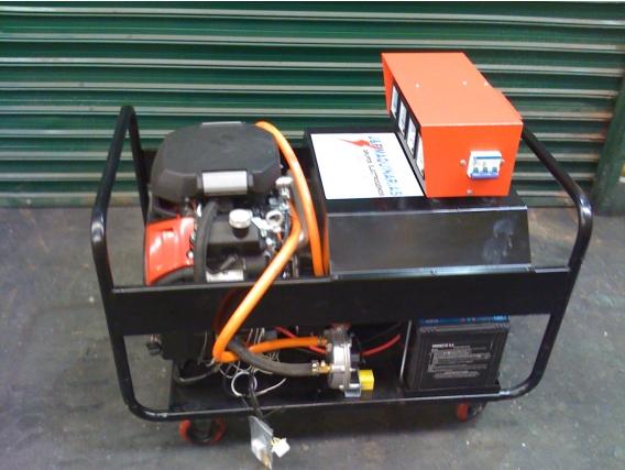Grupos Electrogenos Honda Gas 8 a 15 Kva