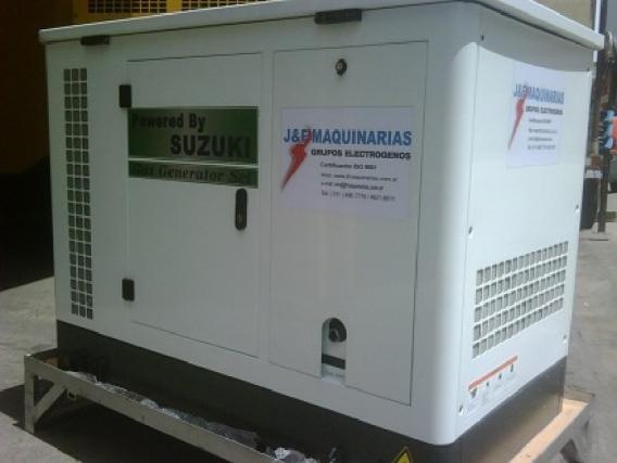 Grupos Electrogenos Suzuki GAS/GLP 25 kva
