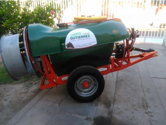 Pulverizadora De Arrastre Gutiérrez M/r 600