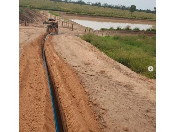 Instalacion de redes de agua Mucon Constructora