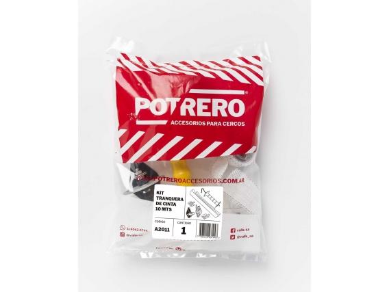 Kit Tranquera De Cinta 10mt Potrero®
