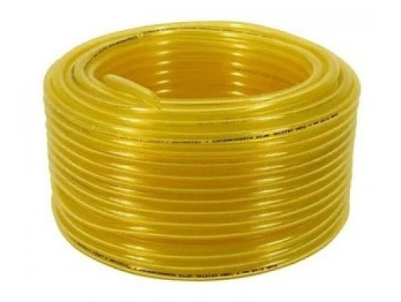 Manguera Cristal Amarilla - Ext 7 X 4 Int x 100 Metros