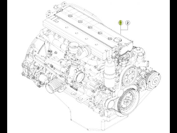 Motor  Mercedes Benz  Om 906 La - 150Kw