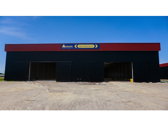 Nave Industrial 20 x 60 x 8