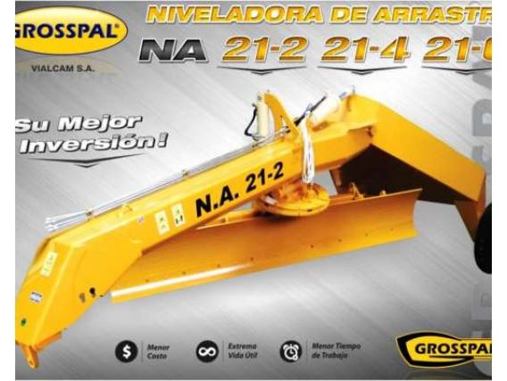 Niveladora de arrstre Grosspal NA 21- 6