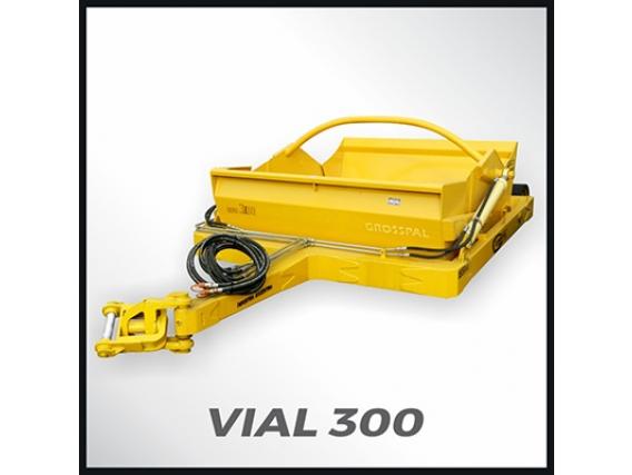 Pala Hidráulica Grosspal Vial 300