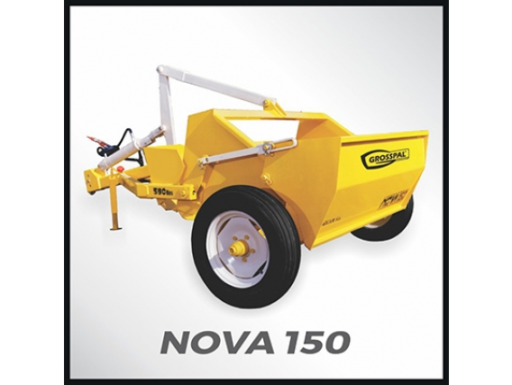 Pala Hidraulica Grosspal Nova 150