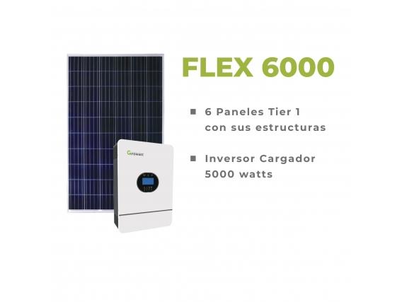 Kit Solar On Grid Flex 6000