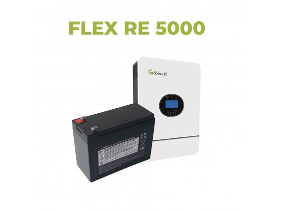 Kit Solar Flex Re 5000