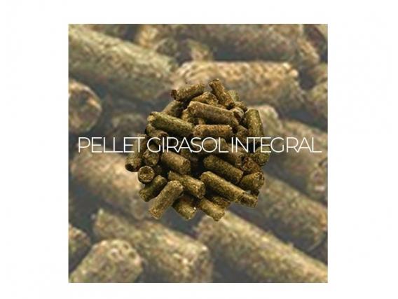 Pellets de Girasol Integral 26 % proteínas