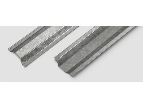 Perfil de aluminio Corralon Expósito PGO Omega Steel Frame