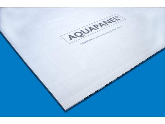 Placa de yeso Knauf Aquapanel Outdoor Corralón Expósito