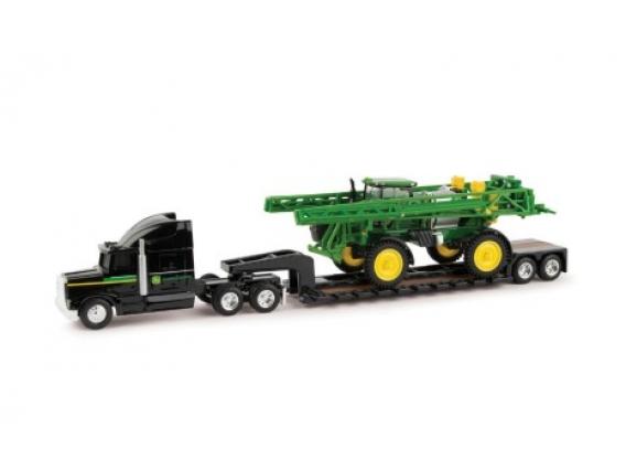 R4038 Sprayer With Semi y Lowboy Trailer - Camion Y Pulverizadora