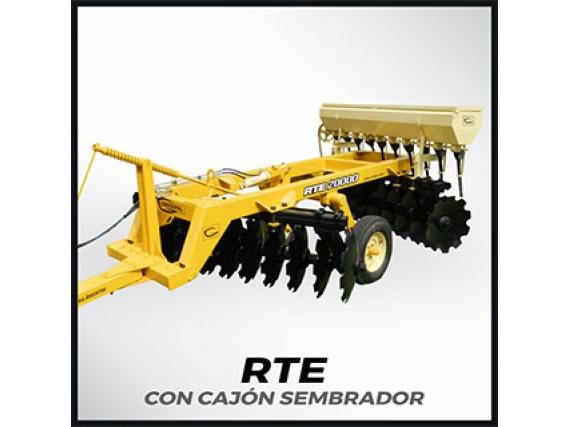 Rastra De Tiro Excentrico Grosspal RTE 20.000 Con Cajon Sembrador