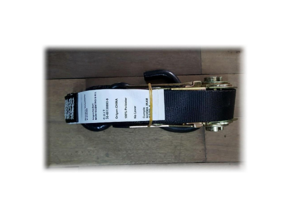 "Ratchet strap 1"" x 2,70 Mts. P/ Trailer, Remolques Y Acoplados"