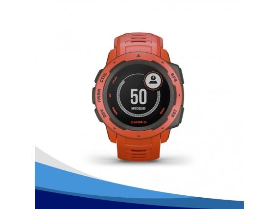 Reloj GPS Garmin Instinct Ultra Resistente Rojo