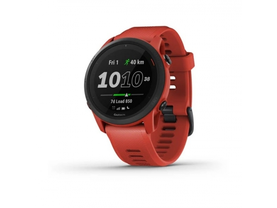 Reloj Garmin Forerunner 745 GPS Musica Altimetro Barometrico Rojo