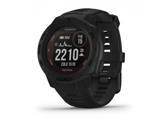 Reloj Garmin Instinct Solar Tactical Ultra Resistente GPS Negro