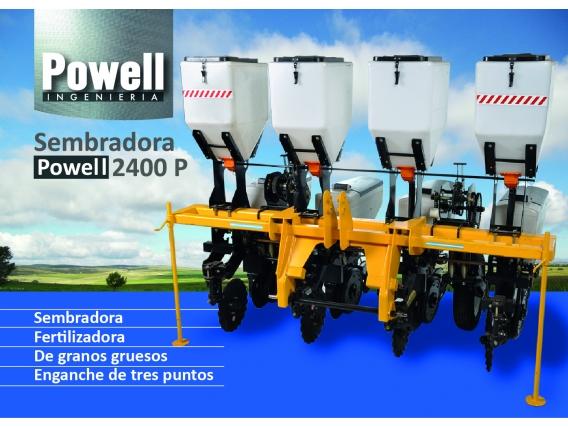Sembradora Powell Ingeniería 2400 P