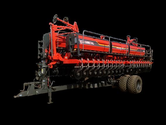 Sembradora Autotrailer Gimetal TI con Fertilizacion Doble