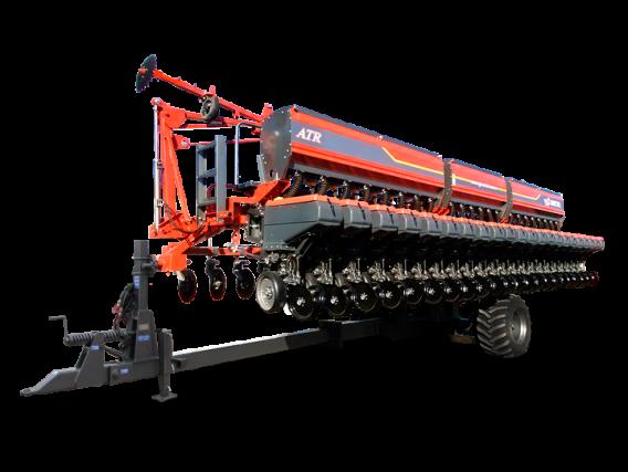 Sembradora Autotrailer Gimetal TI con Fertilizacion