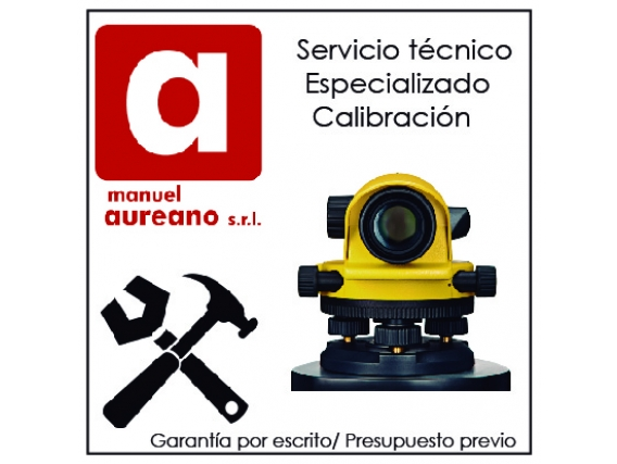 Servicio tecnico para Niveles opticos