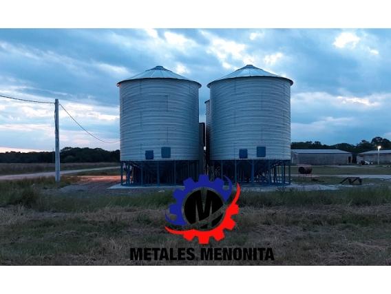 Silo Aéreo Metales Menonita 2020