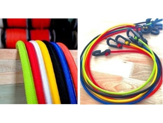 Soga Elastica Reforzada Cuerdas Mendy 8 Er X 100 Mts