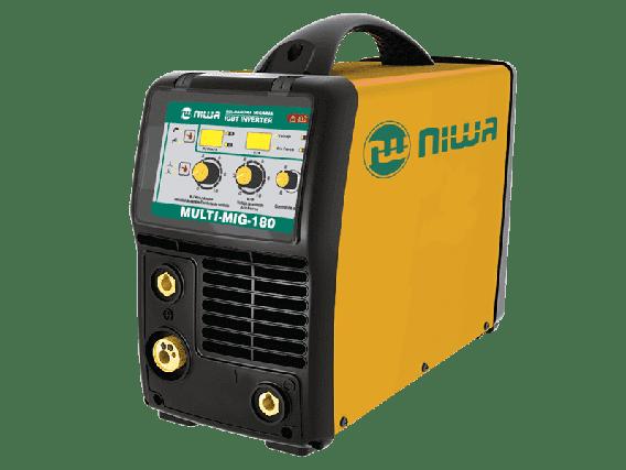 Soldadora Inverter Mig/Mac Niwa MULTI-180
