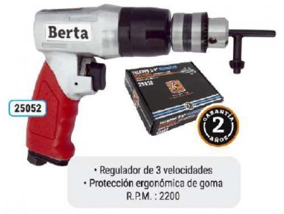 Taladro Neumático 3/8 Reversible Berta 25052