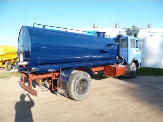 Tanque Atmosférico Sobre Camión Riego Metal ASC1000