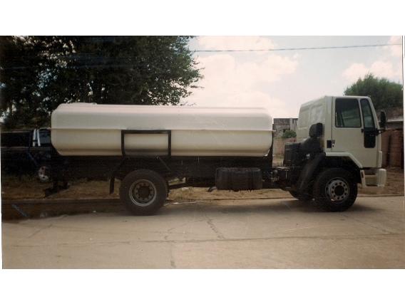 Tanque Riego Sobre Camion Riego Metal RC8000MS