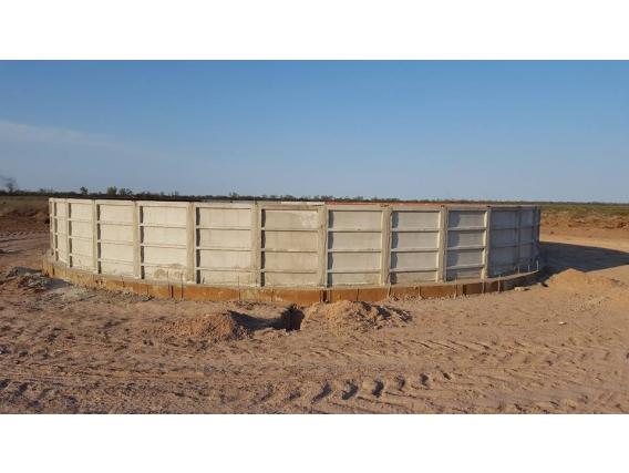 Tanque australiano Mucon Constructora