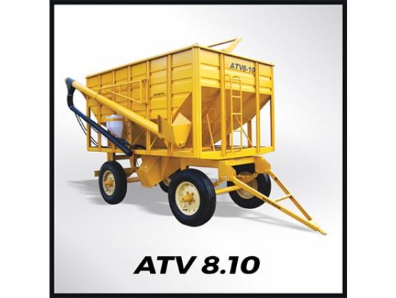 Tolva Semilla Y Fertilizante Grosspal ATV 8-10
