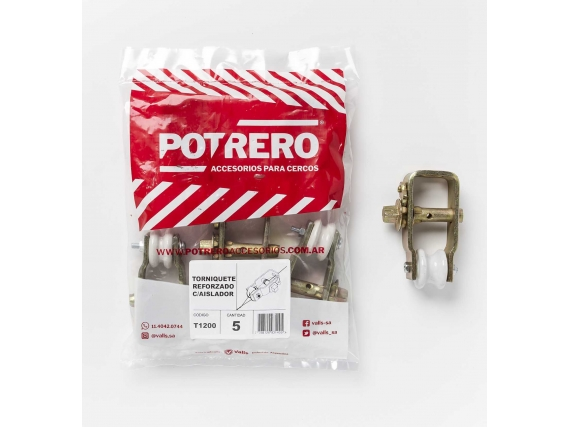 Torniquete Reforzado C/aislador Potrero® (x 5 Unid.)
