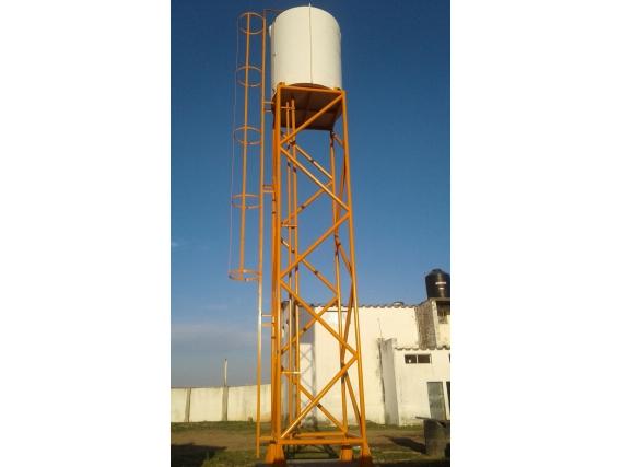 Torre De Agua T10000 7 Riego Metal