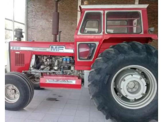 Tractor Massey Ferguson MF 296 año 1984