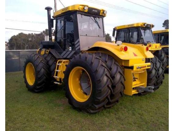 Tractor Pauny 540 EVO Rodado Radial- Dual 34
