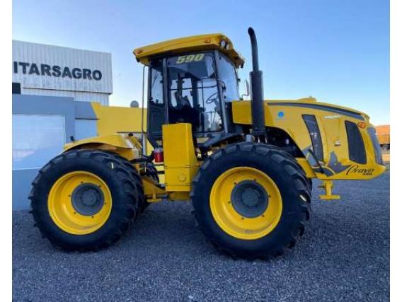 Tractor Pauny 590 Bravo Rodado Radial Dual 38