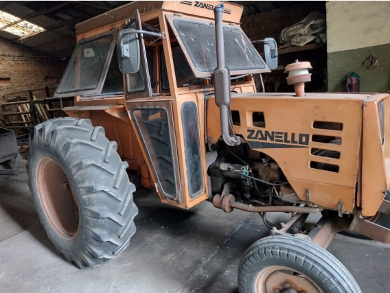 Tractor Zanello 220D,motor Deutz Turbo 3 Cil.de 115 Hp.
