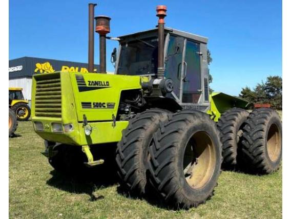 Tractor Zanello 500 Rodado Dual 18.4- 34