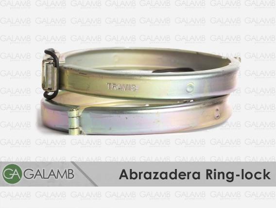 Abrazadera Ring-Lock 5-6-8 Y10 Pulg.